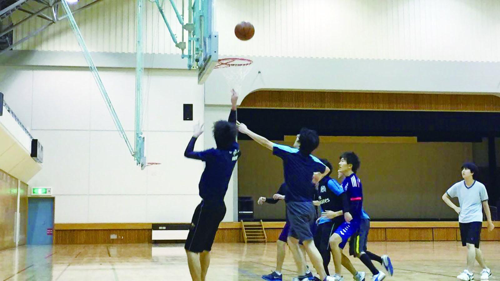 親睦バスケットボール